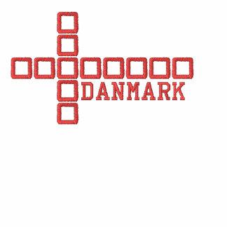 Sudadera con capucha de la bandera de Danske - sud
