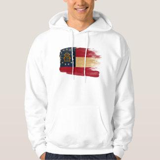 Sudadera con capucha de la bandera de Georgia