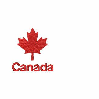 Sudadera con capucha de la cremallera de Canadá -