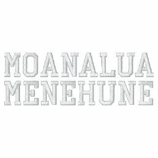 Sudadera con capucha de la cremallera de Menehune