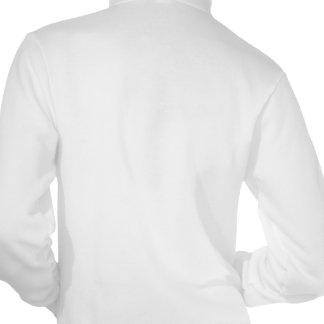 Sudadera con capucha de la cremallera del paño gru