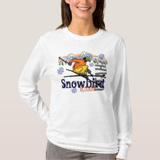 Sudadera con capucha de la elevación del esquí de