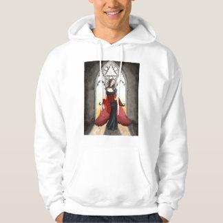 Sudadera con capucha de la hada del arco gótico