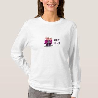 Sudadera con capucha de las señoras de la gripe de