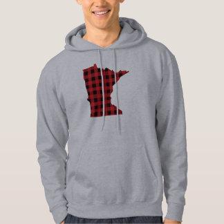 Sudadera con capucha de Minnesota de la tela
