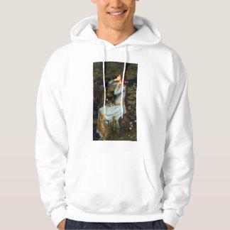 Sudadera con capucha de Ofelia del Waterhouse