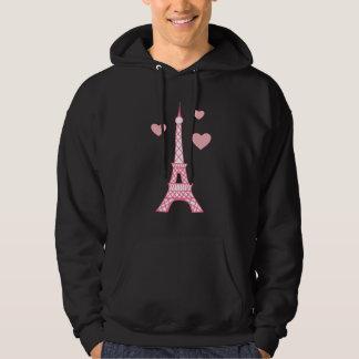 Sudadera con capucha de París de la torre Eiffel