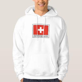 Sudadera con capucha de Suiza