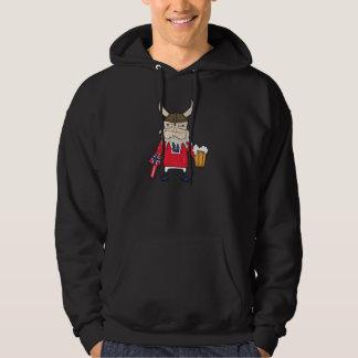 Sudadera con capucha de Viking del noruego