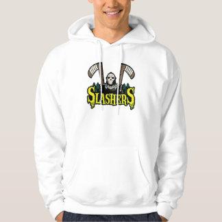 Sudadera con capucha del blanco de Slasher