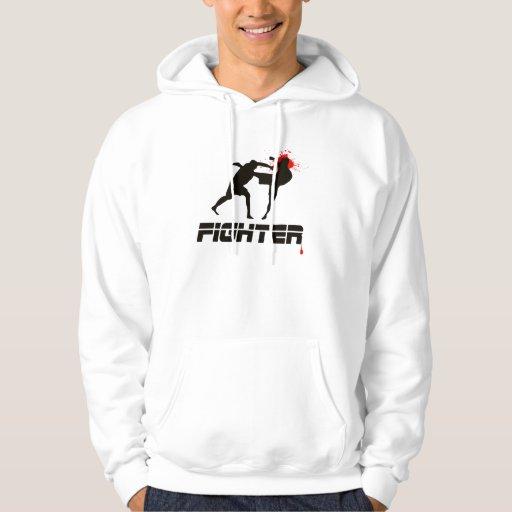 Sudadera con capucha del combatiente