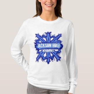 Sudadera con capucha del copo de nieve de Jackson