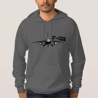 Sudadera con capucha del halcón que lucha F-16
