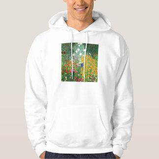 Sudadera con capucha del jardín de flores de