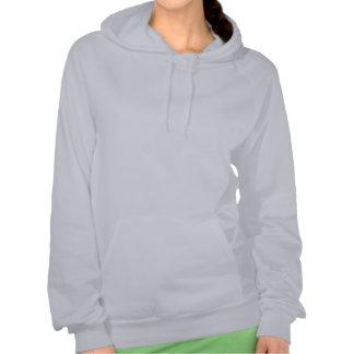 Sudadera con capucha del jersey de las señoras