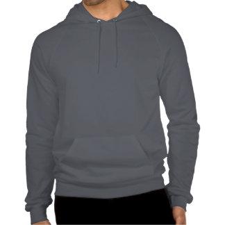 Sudadera con capucha del jersey del paño grueso y