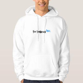 Sudadera con capucha del logotipo de Yo-YoBros,