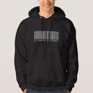 Sudadera con capucha del negro del logotipo de
