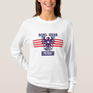 Sudadera con capucha del patriota de las señoras