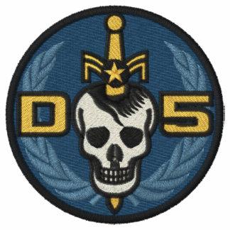 Sudadera con capucha del peligro 5 con la insignia