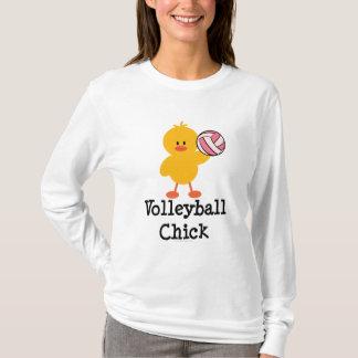 Sudadera con capucha del polluelo del voleibol