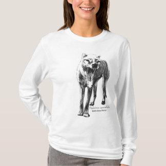 Sudadera con capucha del Thylacine