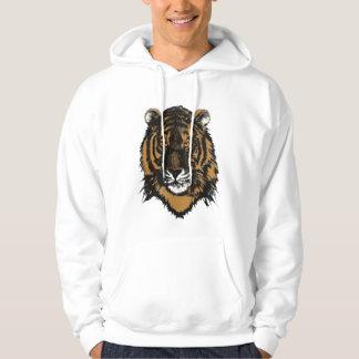 Sudadera con capucha del tigre de Bengala
