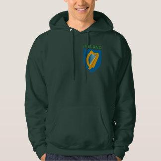 Sudadera con capucha irlandesa de la arpa