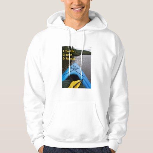 SUDADERA CON CAPUCHA, Kayaking