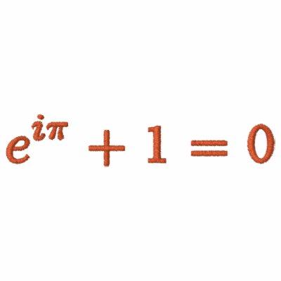 Sudadera con capucha: La identidad de Euler,