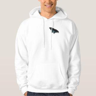 Sudadera con capucha negra de Swallowtail