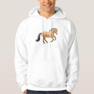 Sudadera con capucha noruega del caballo del