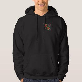 Sudadera con capucha/Paisley 1 floral