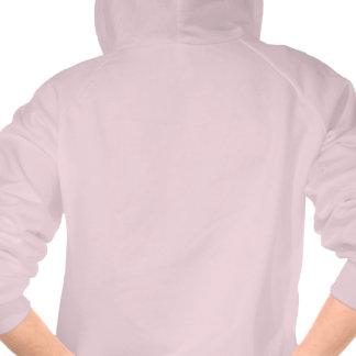 Sudadera con capucha rosada de Elemonators