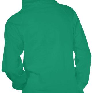 Sudadera con capucha sarcástica verde de Kelly