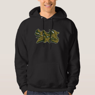sudadera con capucha verde 2011 del grafstyle