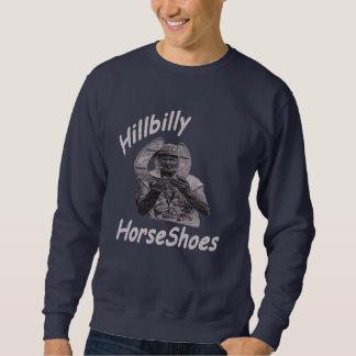 Sudadera de las herraduras del Hillbilly