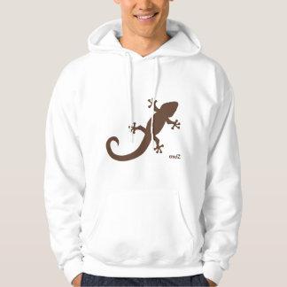 Sudadera gecko blanca hoody