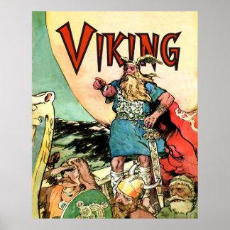 Sudaderas con capucha del Thor de dioses de los nó Posters