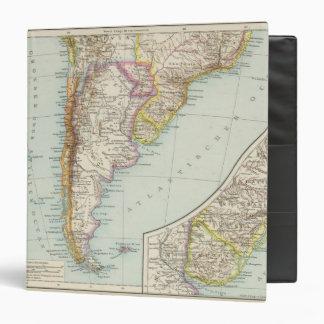 Sudamerika sudliches Blatt - South America Map Binder