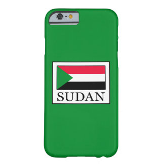 Sudan Barely There iPhone 6 Case