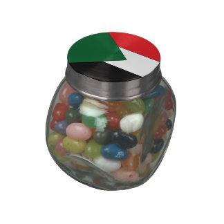 Sudan Jelly Belly Candy Jar