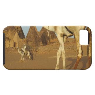 Sudán, del norte (Nubia), pirámides de Meroe con iPhone 5 Carcasa