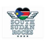Sudán del sur oscila v2 postal