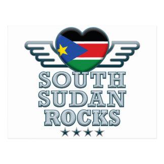 Sudán del sur oscila v2 postales