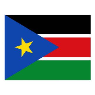 Sudán del sur tarjetas postales