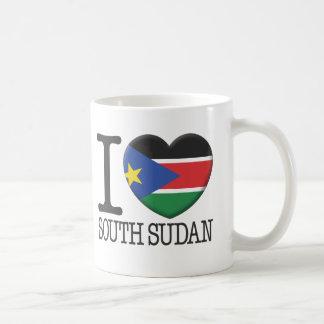 Sudán del sur taza de café
