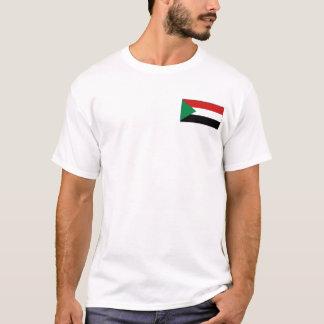 Sudan Flag and Map T-Shirt