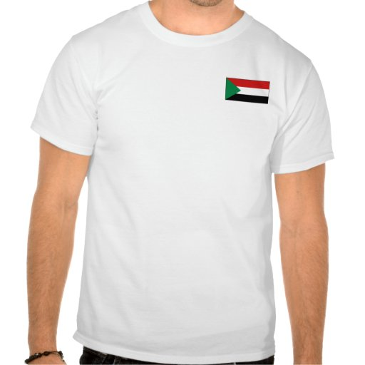 Sudan Flag and Map T-Shirt
