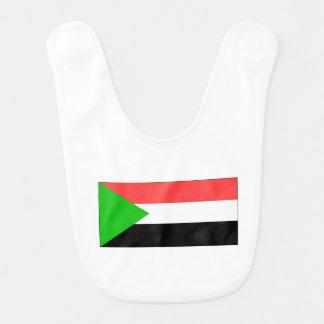 Sudan Flag Baby Bib